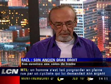 Former Raelian priest Jean-Denis Saint-Cyr's TV Interview (French)