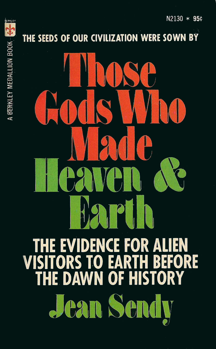 Those Gods Who Made Heaven & Earth, the Novel of the Bible (front) by Jean Sendy (1969)